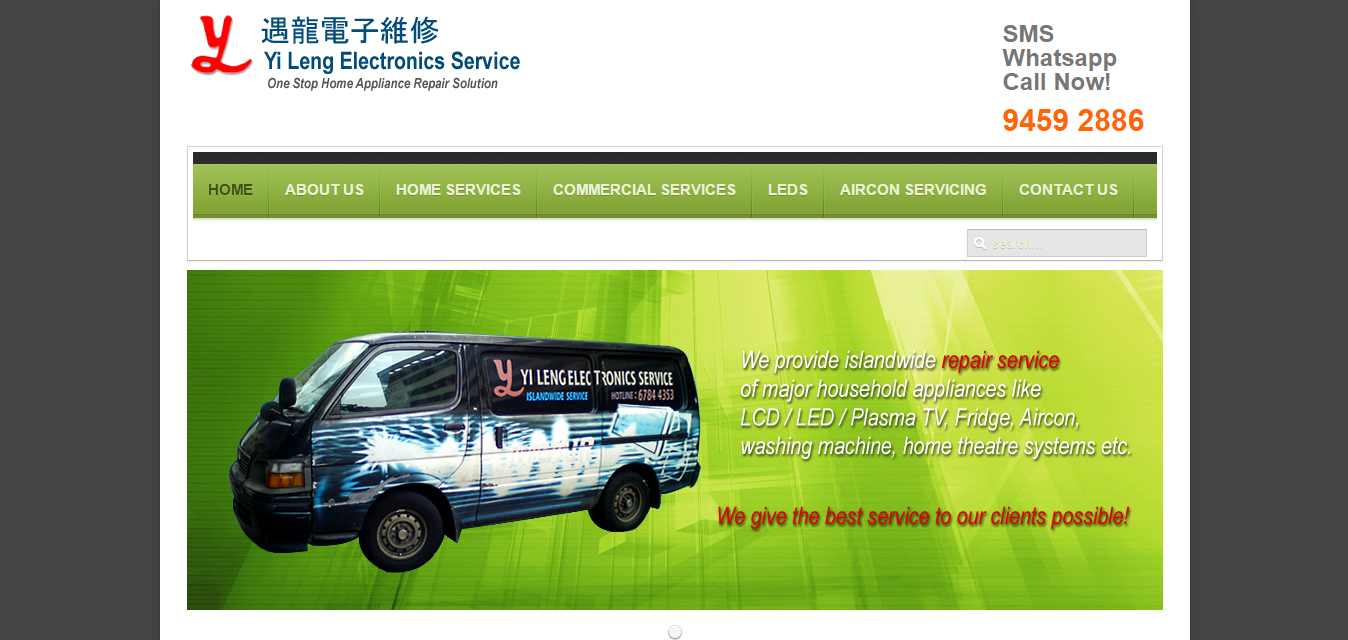 Yi Leng Electronics Service is an aircon service company in Singapore.