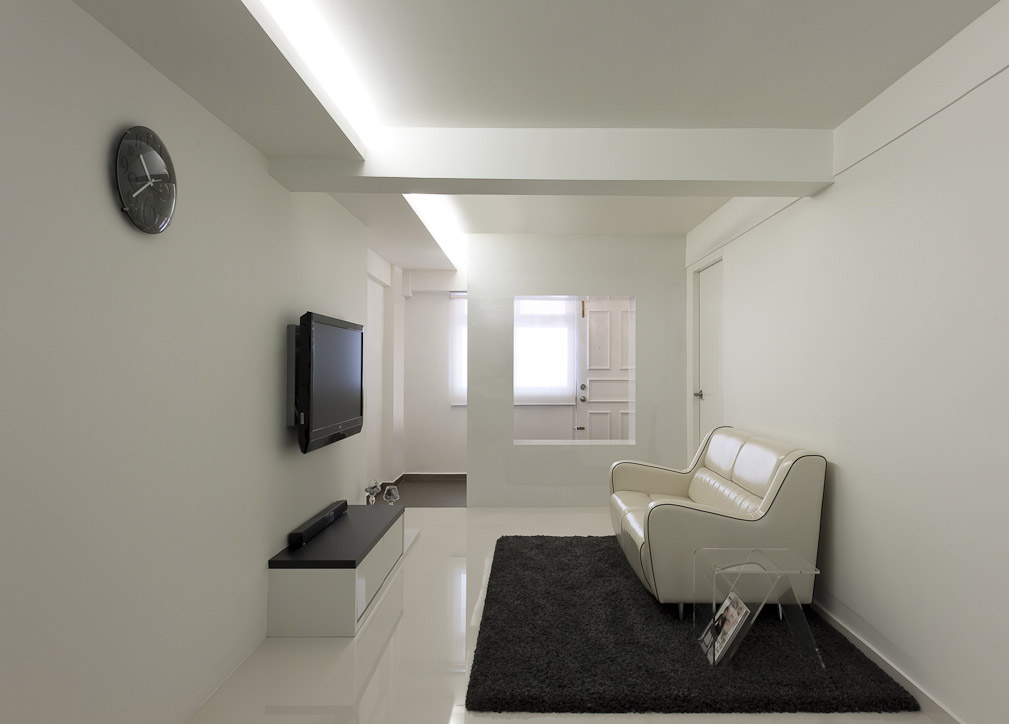 Rezt relax interior 3 room hdb at dover singapore for Interior design singapore hdb 5 room flat
