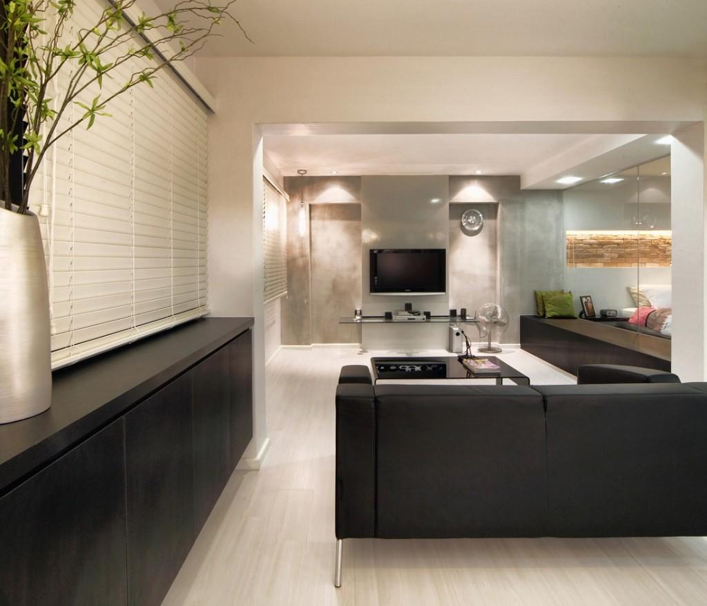 Condo interior design at Vera