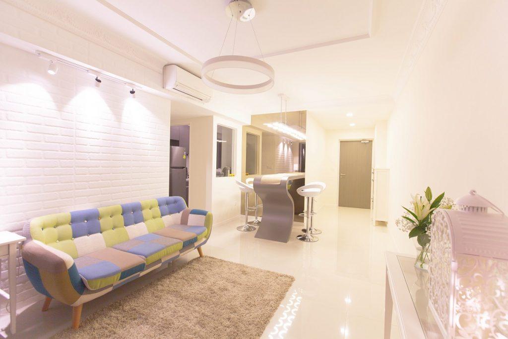 Interior design by Home Reno Pte Ltd