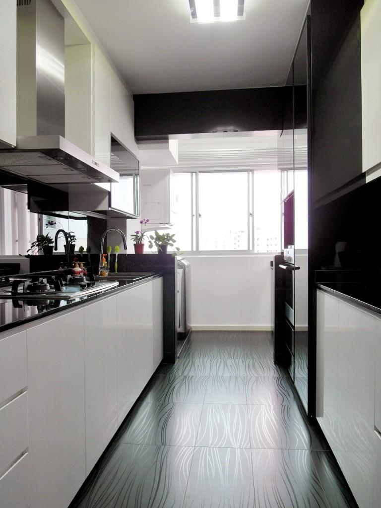 Virtual Kitchen Design Hdb Singapore: 4 Room HDB At Sembawang Drive