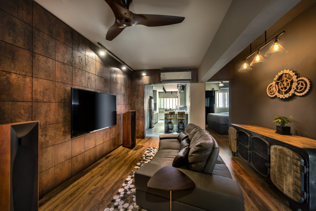 Rezt & Relax Interior - 3 Room HDB