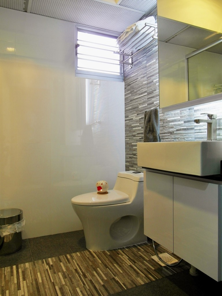 Home reno pte ltd 4 room hdb at sembawang drive singapore home services home services Hdb master bedroom toilet design