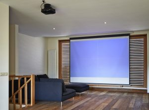 Install home projector